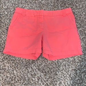 J.Crew Pre-LOVED size 6 City Fit Chino shorts.